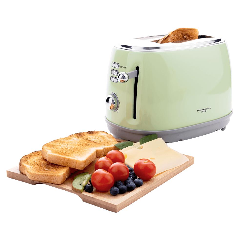 Prăjitor de pâine, neo mentă / gri, CARSON