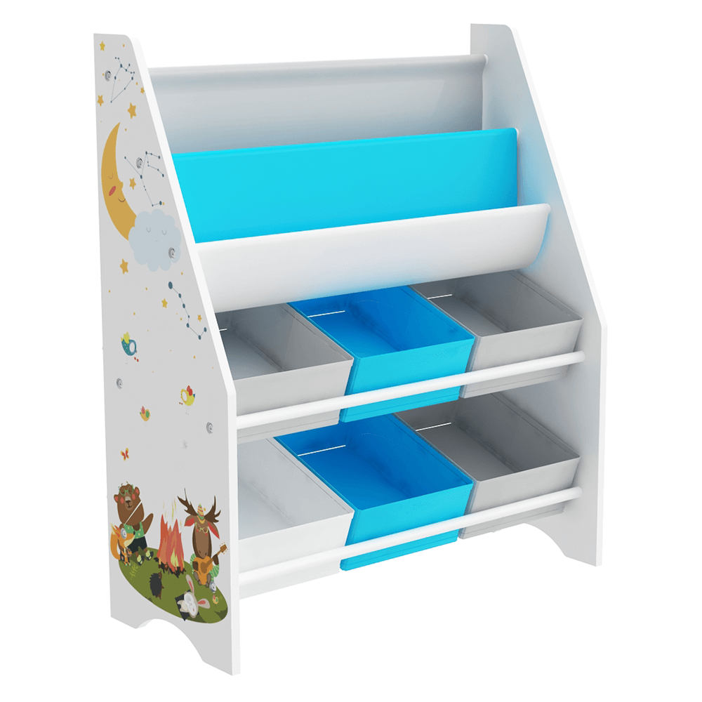 Organizator / raft pentru jucării, multicolor / model, DARLING TYPE 1
