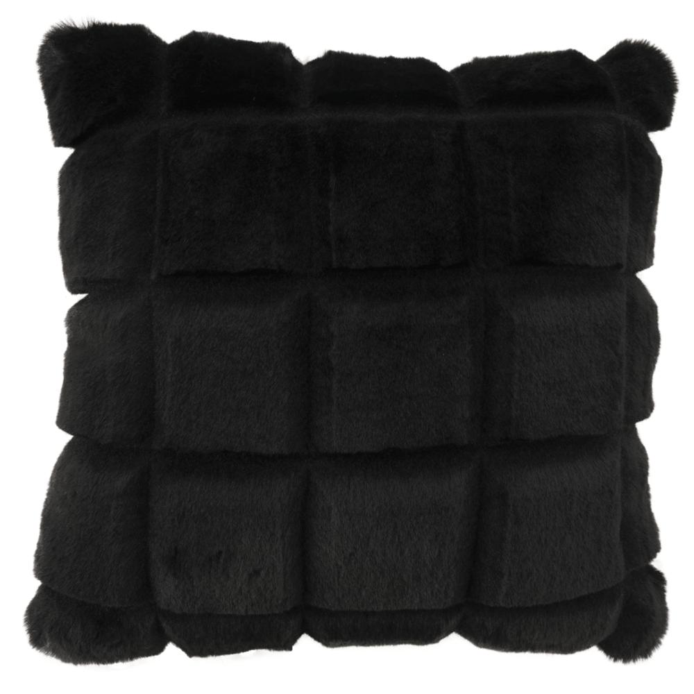Pernă, neagră, 45x45, VANKE TYPE 5