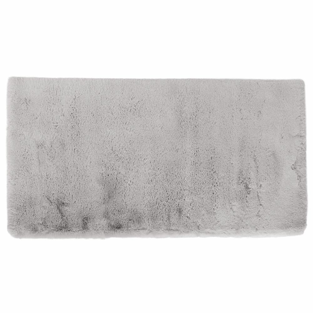 Luxus shaggy szőnyeg, szürke, 140x200, KAMALA LUX