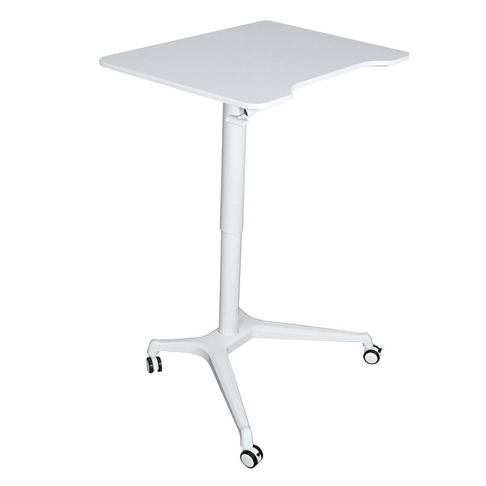 Dolgozóasztal állítható magassággal, fehér, NIXON