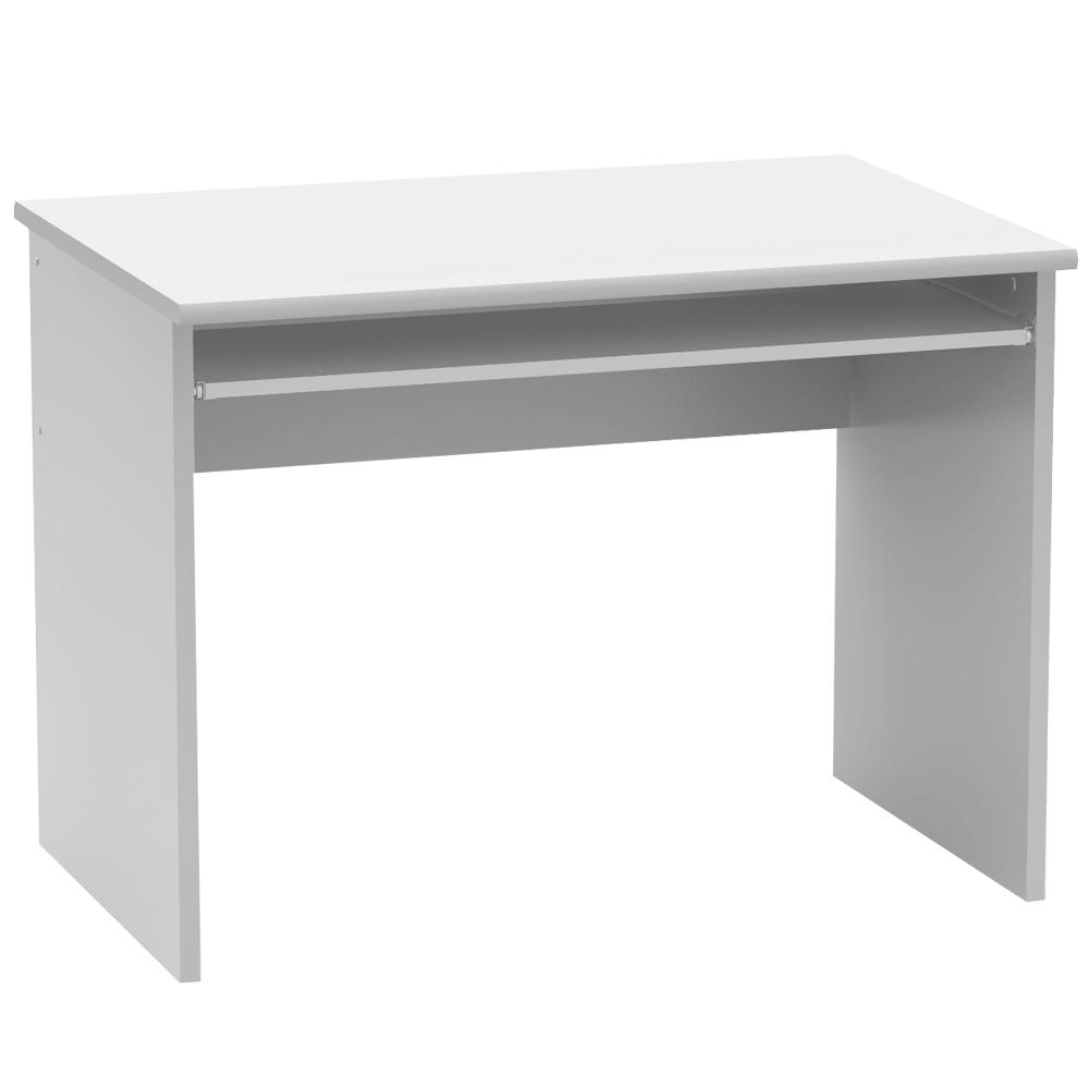 Masă de birou, alb, JOHAN 2 NEW 02
