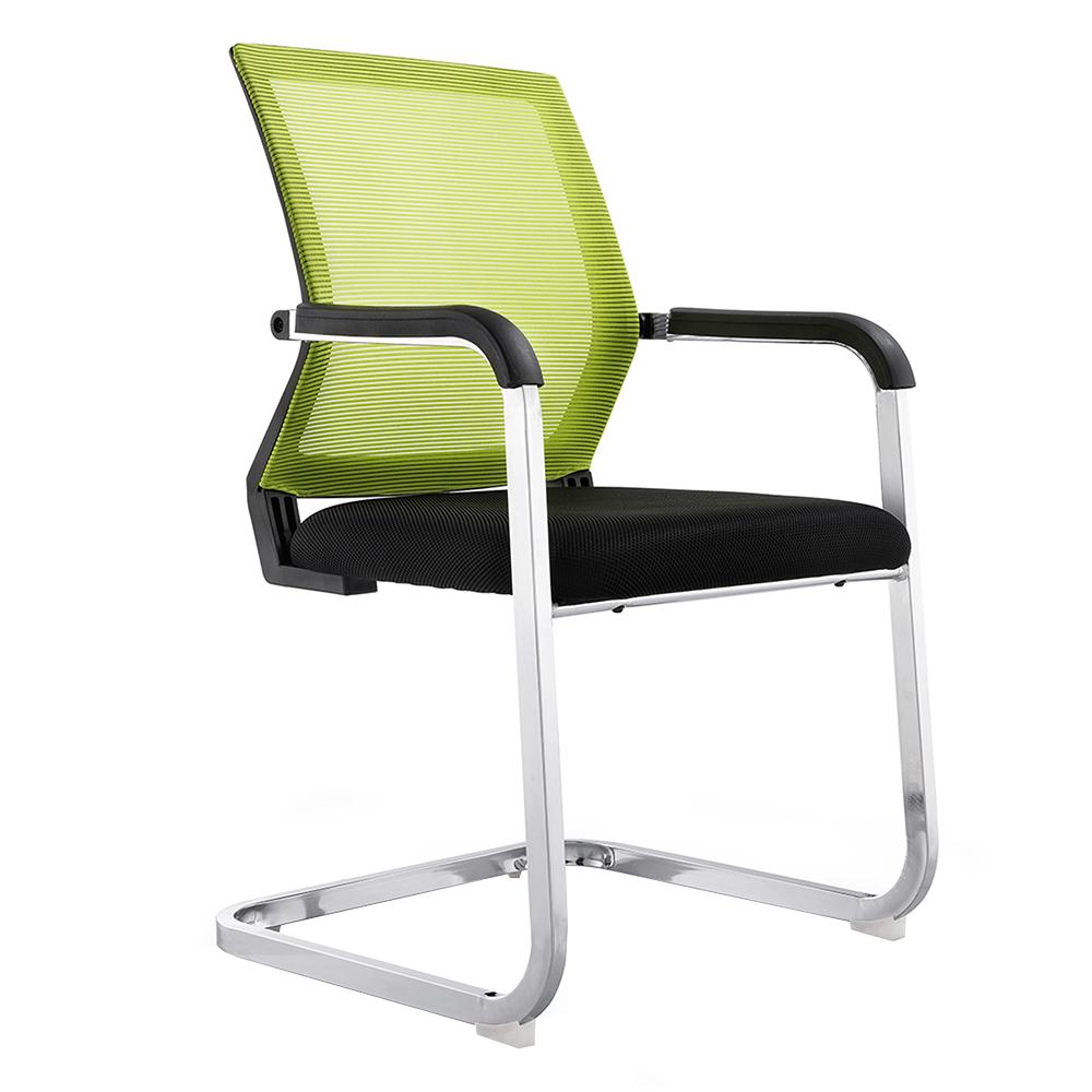 Scaun conferinţă, verde/negru, RIMALA