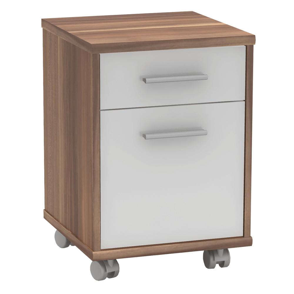Container de birou, prun/alb, JOHAN 2 NEW 08
