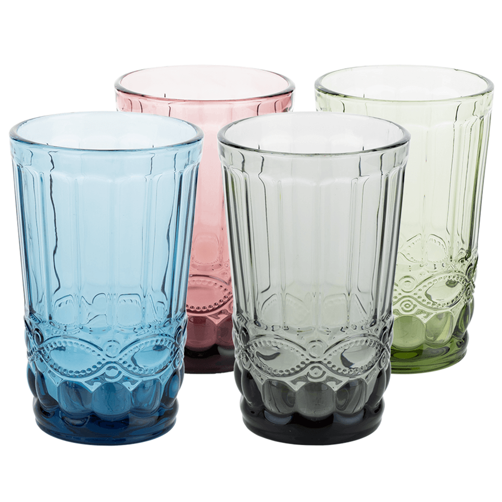 Set de 4 pahare de apă, 350ml, SAVOY TYPE 1
