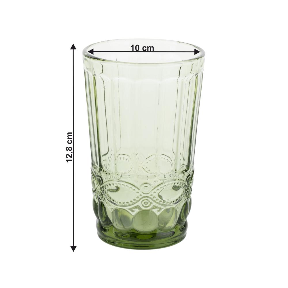 4 darabos pohárkészlet, 350ml, SAVOY TYP 1