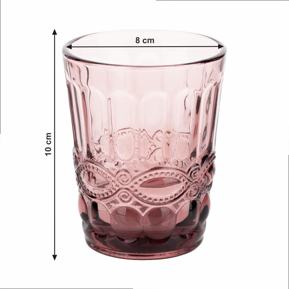 4 darabos pohárkészlet, 240ml, SAVOY TYP 2