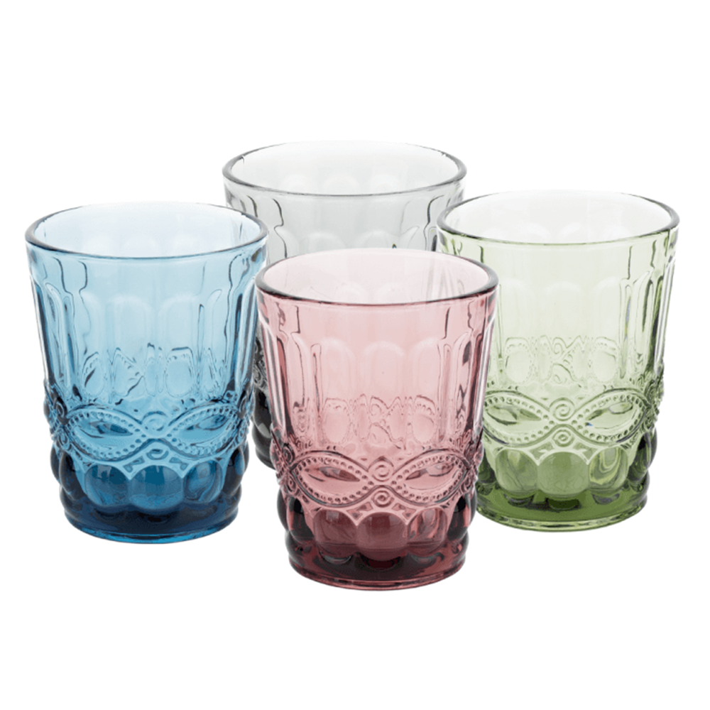 Set de 4 pahare de apă, 240ml, SAVOY TYPE 2