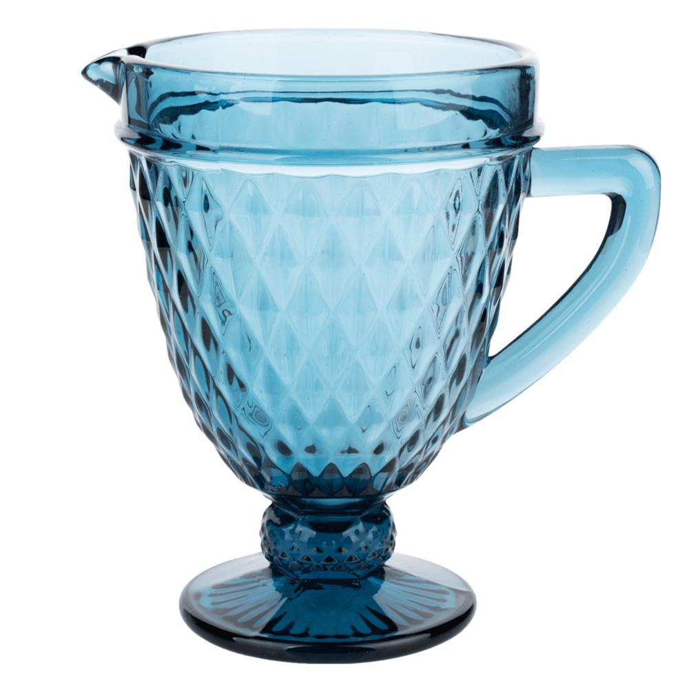 Carafă de apă, 1150ml, albastru, VERITAS
