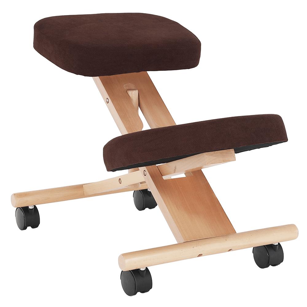 Scaun ergonomic, maro / fag, FLONET