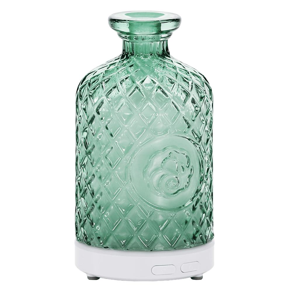 Ultrahangos aroma diffúzor, zöld, GILI