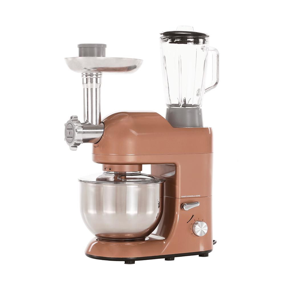 Robot de bucătărie, 1800 W, 5 l, rose-gold aur/crom, KANTE