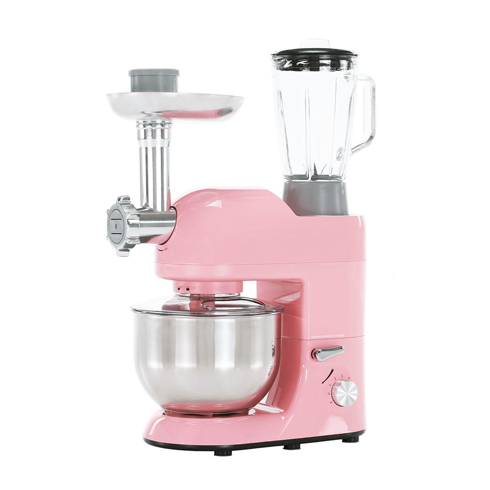 Robot de bucătărie, 1800 W, 5 l, roz/crom, KANTE