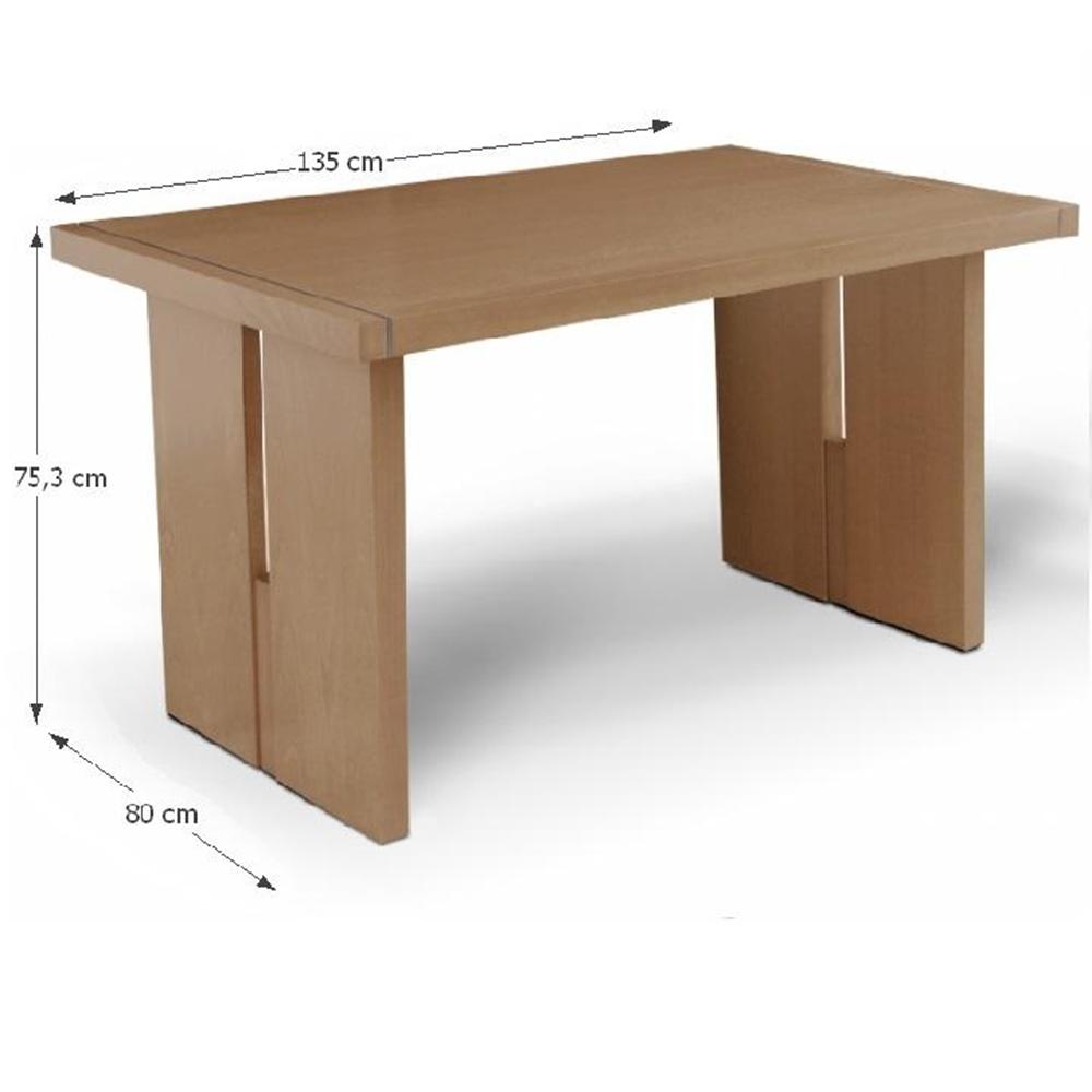 Étkezőasztal, mézes tölgy, CIDRO