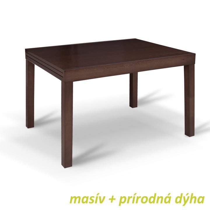 Jedálenský stôl, rozkladací, 120x90, wenge, FARO