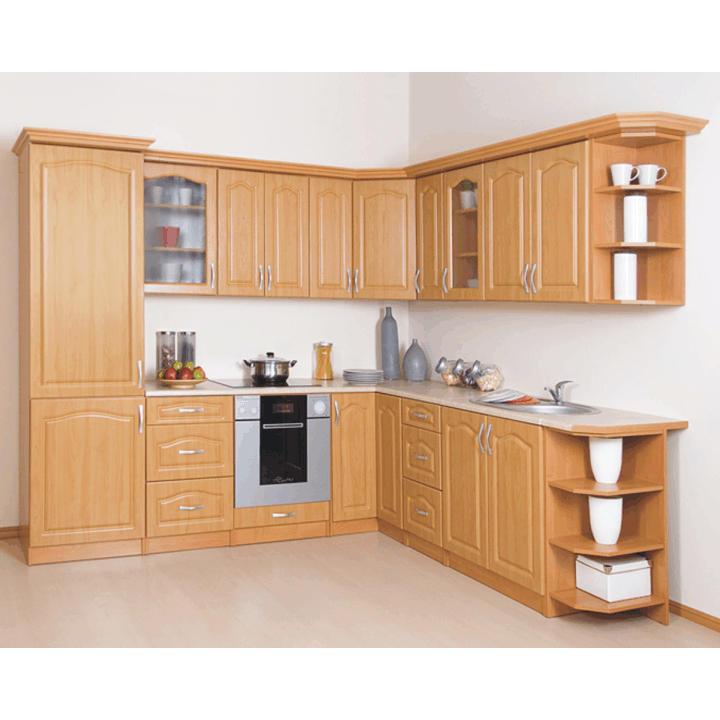 Kuchynská skrinka, rohová, jelša, MDF DN-90
