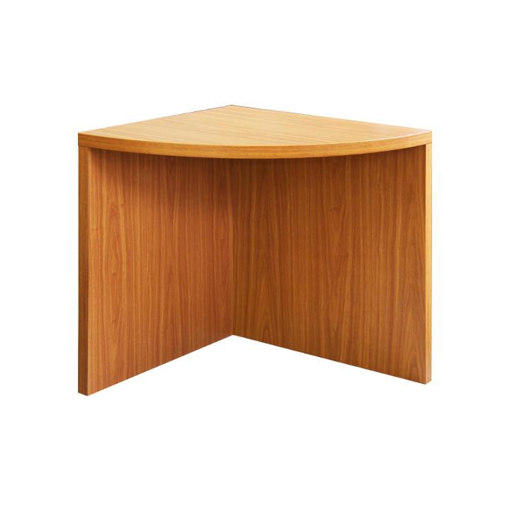 Rohový oblúkový stôl, čerešňa, OSCAR T05