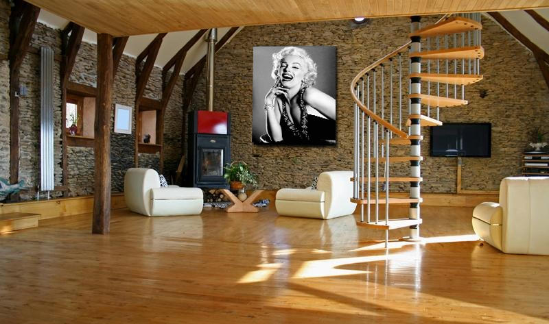 Obraz, s motívom Marilyn Monroe, 50x70 cm