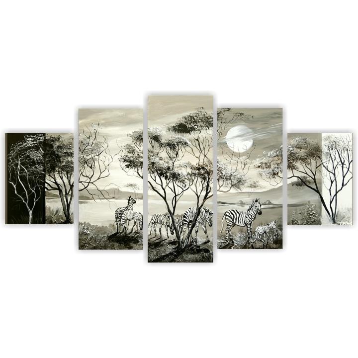 Obraz, ručne maľovaný, 100x60 cm, MP00032R