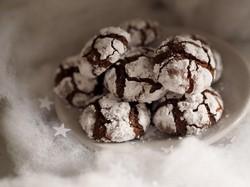 Vianočné čokoládové cookies - Adventný kalendár receptov