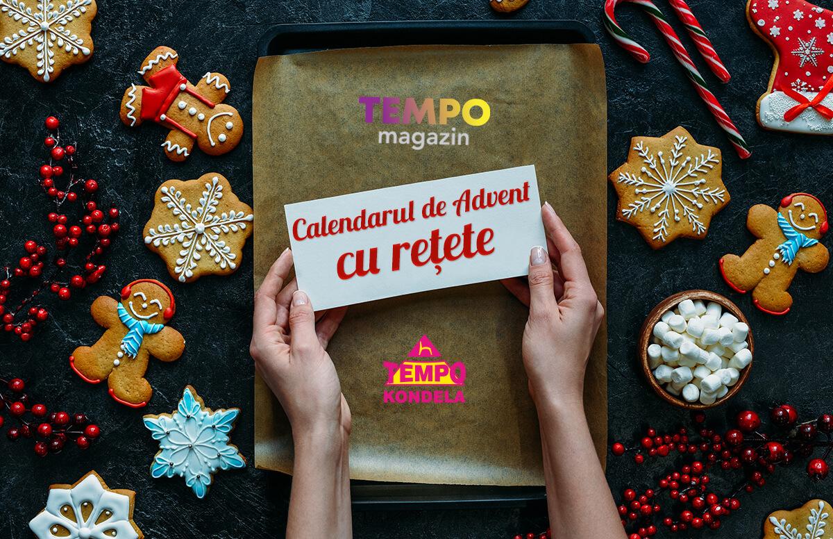 Tempo magazin - Calendarul de Advent cu rețete - o nouă rețetă de Crăciun pentru fiecare zi