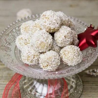 Bomboanele de Crăciun Raffaello - Tempo magazin - Calendarul de Advent cu rețete