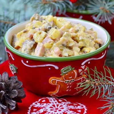 Salată de cartofi de Crăciun - Tempo magazin - Calendarul de Advent cu rețete