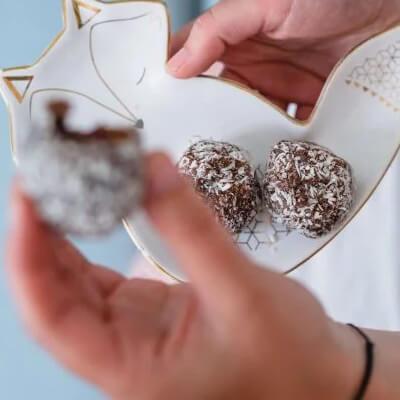 Bile de Crăciun cu rom fără coacere - Tempo magazin - Calendarul de Advent cu rețete