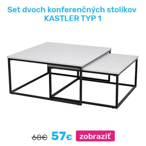 Set konferenčných stolíkov KASTLER