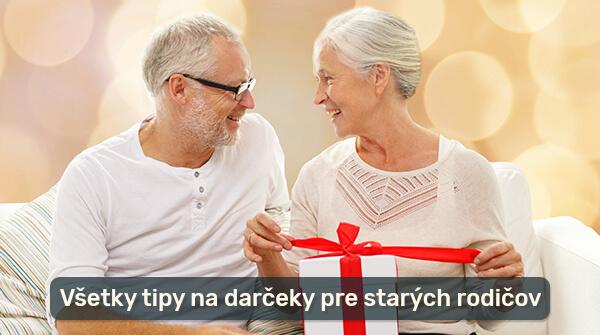 Tipy na darčeky pre starých rodičov